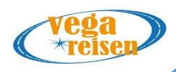 Vega Reisen logo