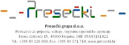 Presečki logo