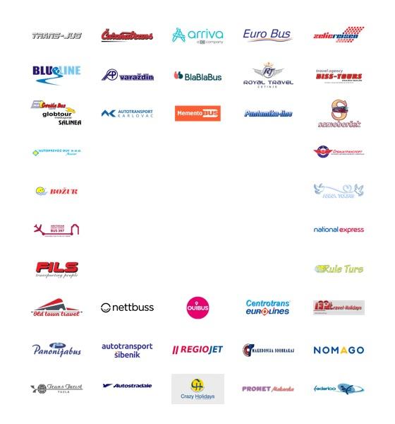 Logos of partner companies