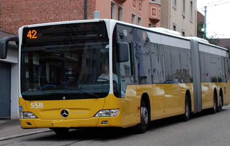Local bus Stuttgart
