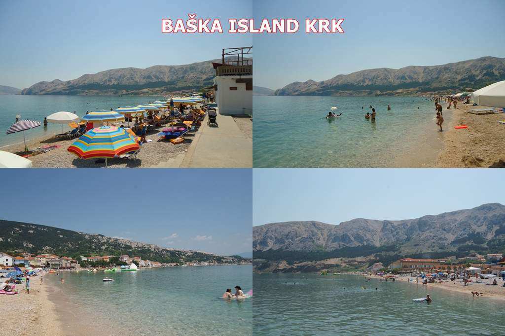 Baska Island Krk