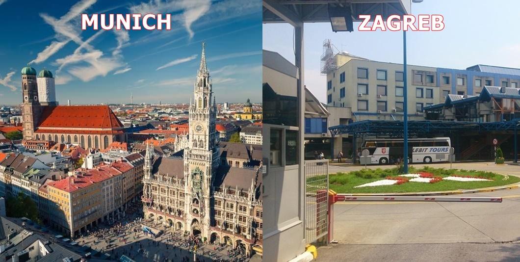 Bus Munich Zagreb