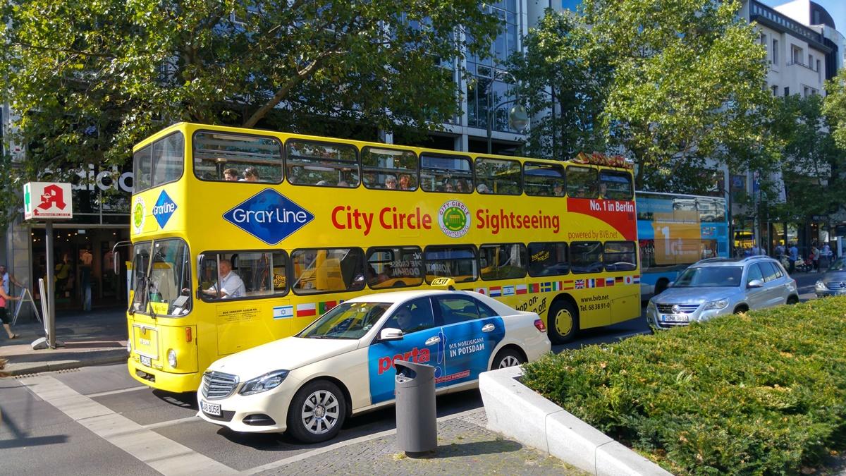 Open sightseeing bus Berlin