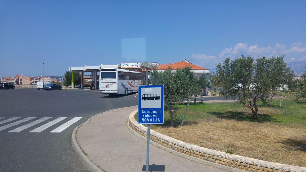 Bus station Novalja