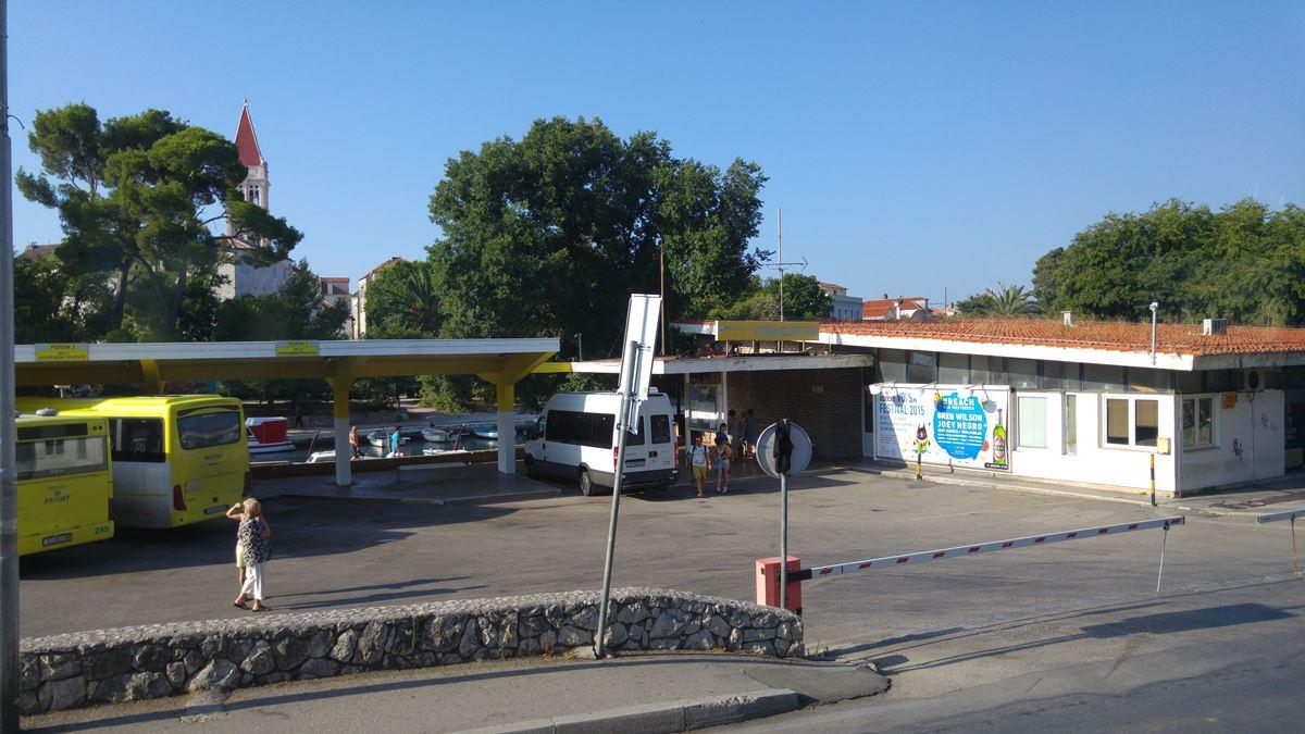Bus station Trogir