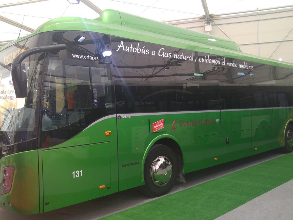 Castrosua autobus na prirodni plin