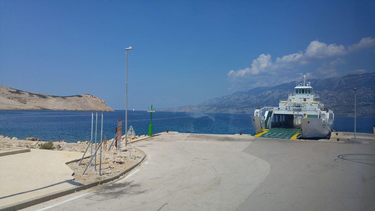 Ferry port in Zigljen