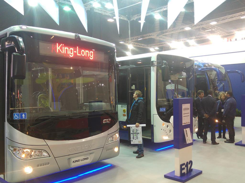 King Long autobus Kortrijk