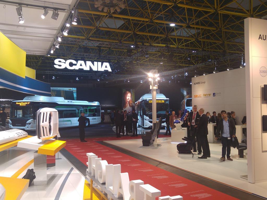 Scandia autobusni sajam Kortrijk