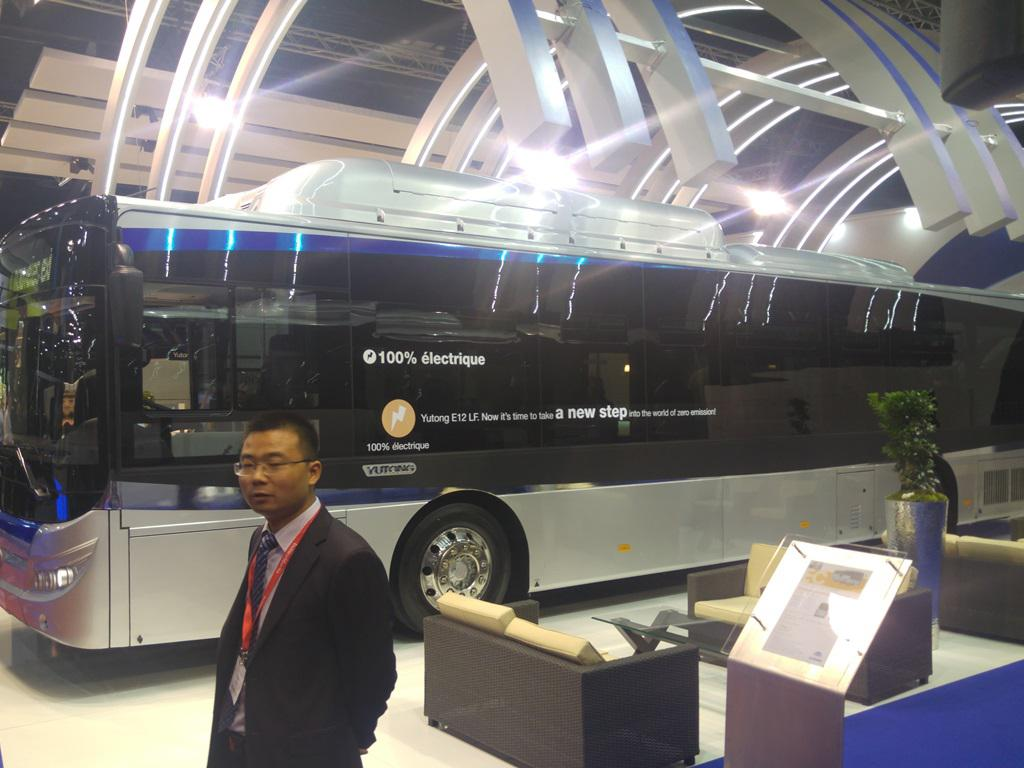 Yotung autobus na struju