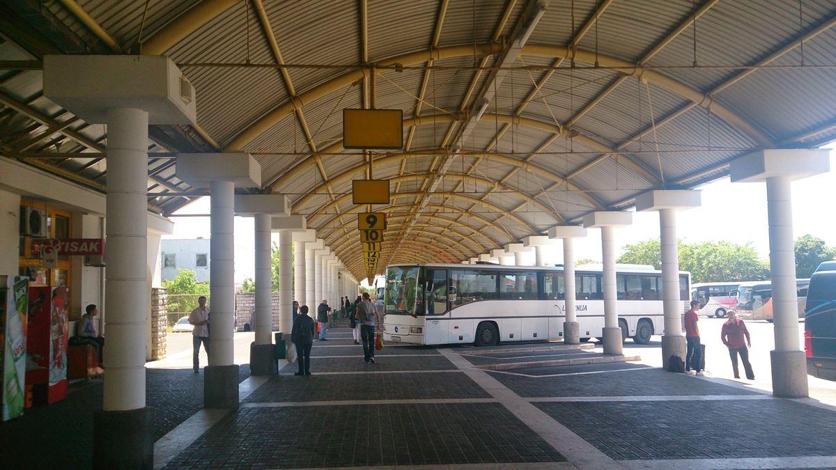 Zadar bus station