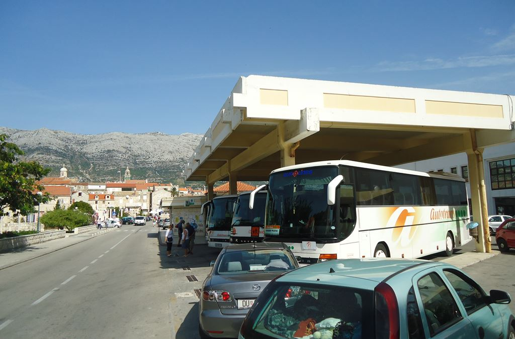 Bus station Korcula