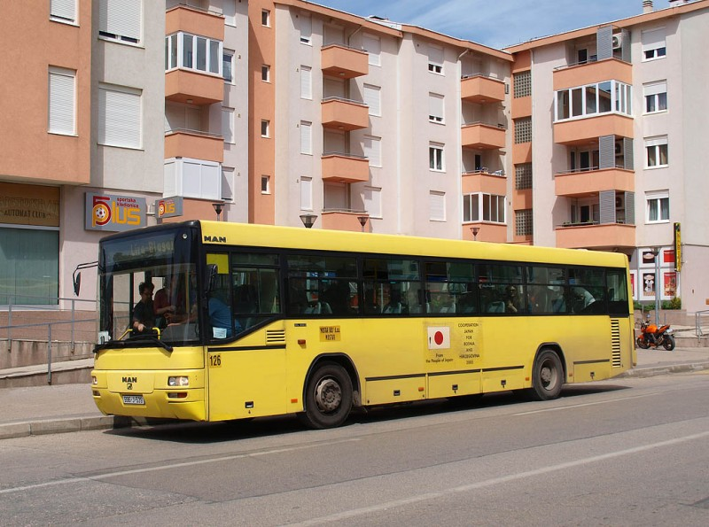 Bus Transport In Mostar
