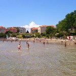 Sandy beach in Split
