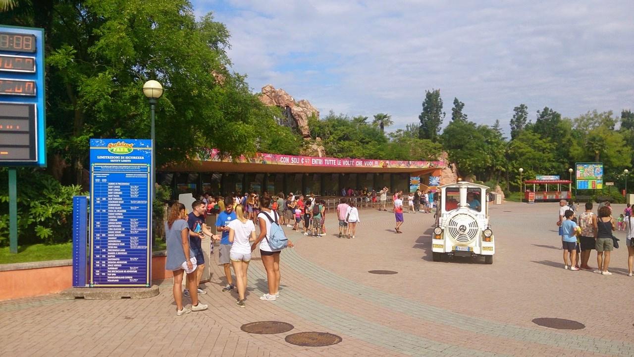 Gardaland Entrance