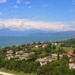 Lake Garda from Gardaland
