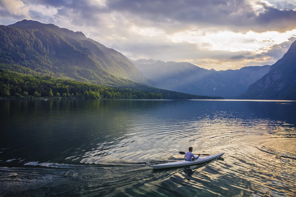 Bohinj Lake Kayak