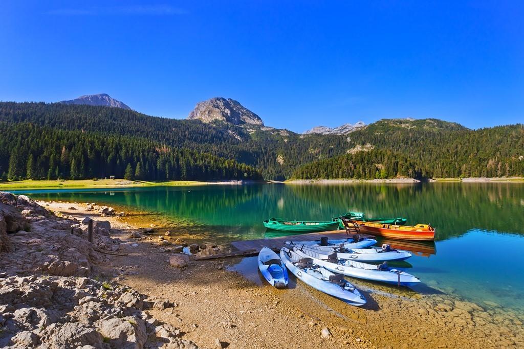 Jedno od planinskih jezera u Nacionalnom parku Durmitor