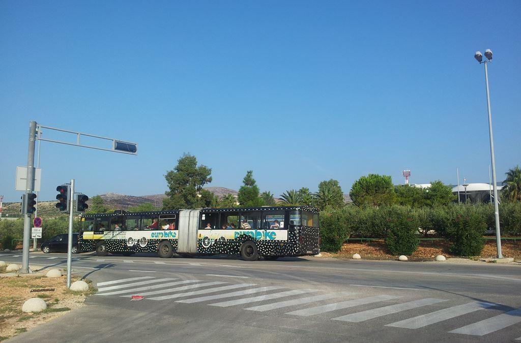 Openbaar vervoer per bus Vliegveld Split