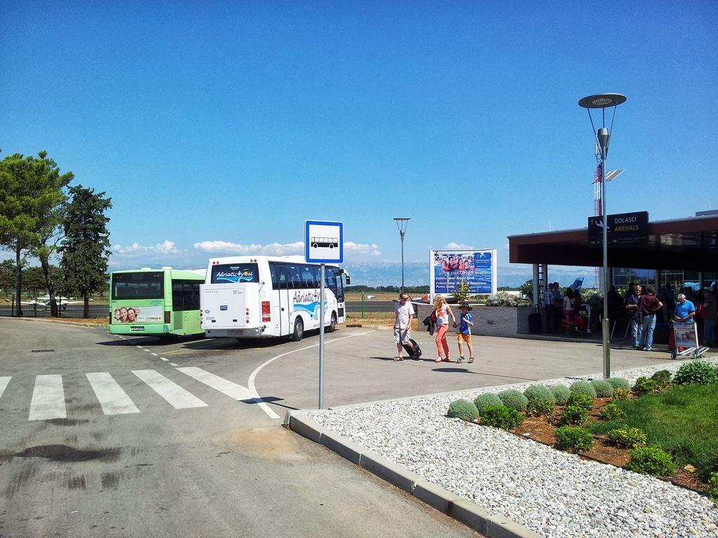 Zadar vliegveldbus