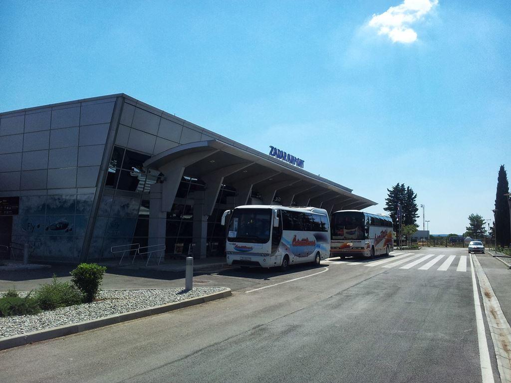 Vervoer vliegveld Zadar