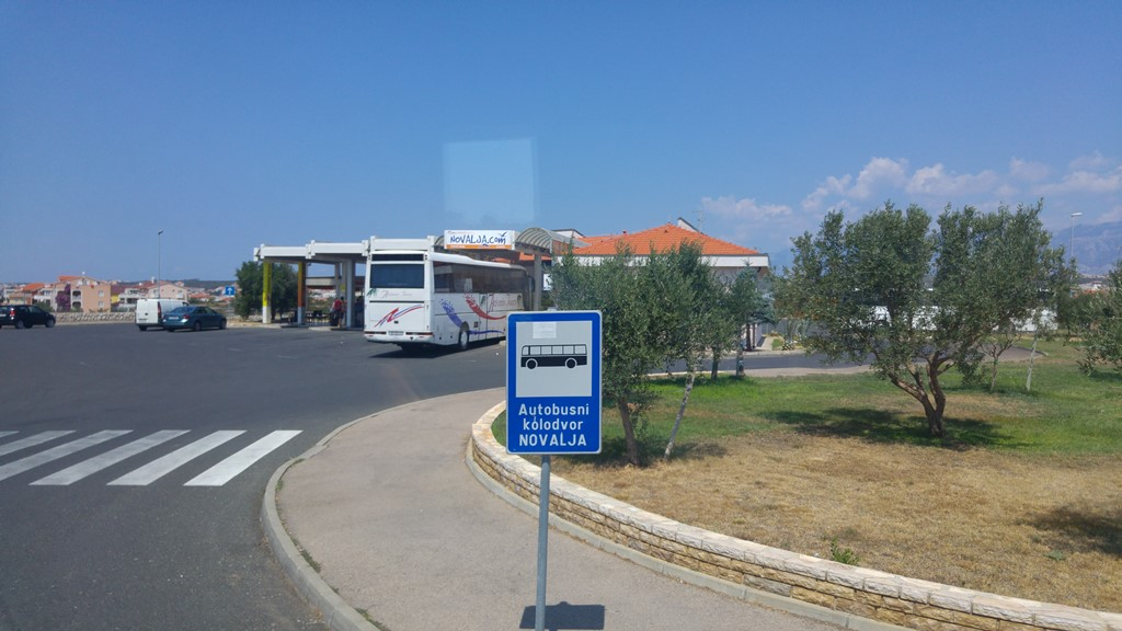 Getting To Novalja Croatia Bus Taxi Or Minibus Transfer