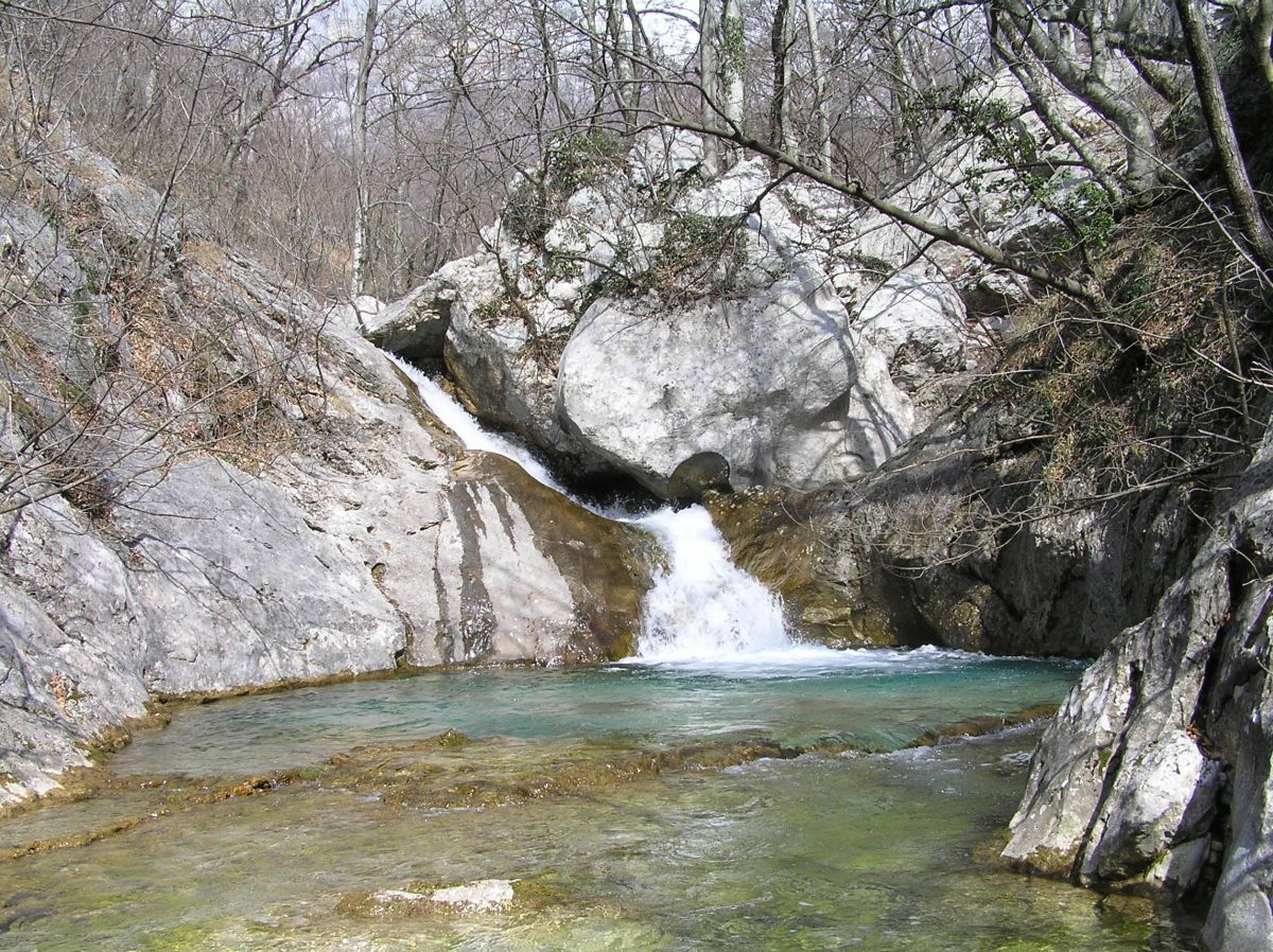 Waterfall in Paklenica