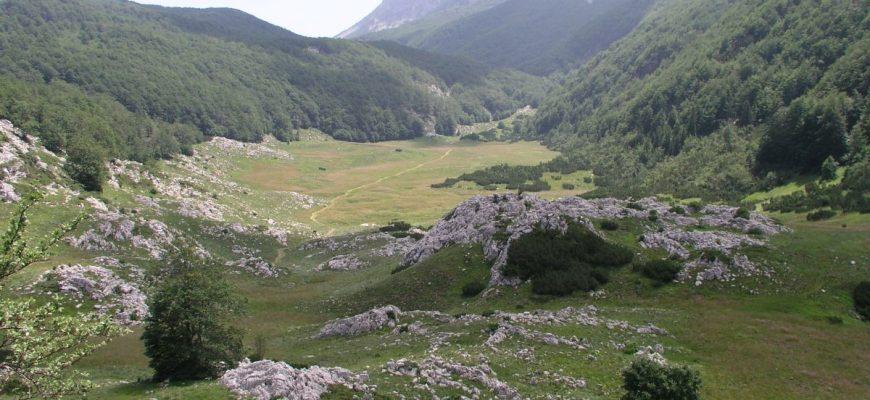 Hiking trail Paklenica