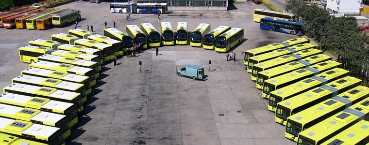 Openbaar vervoer in Split Kroatie