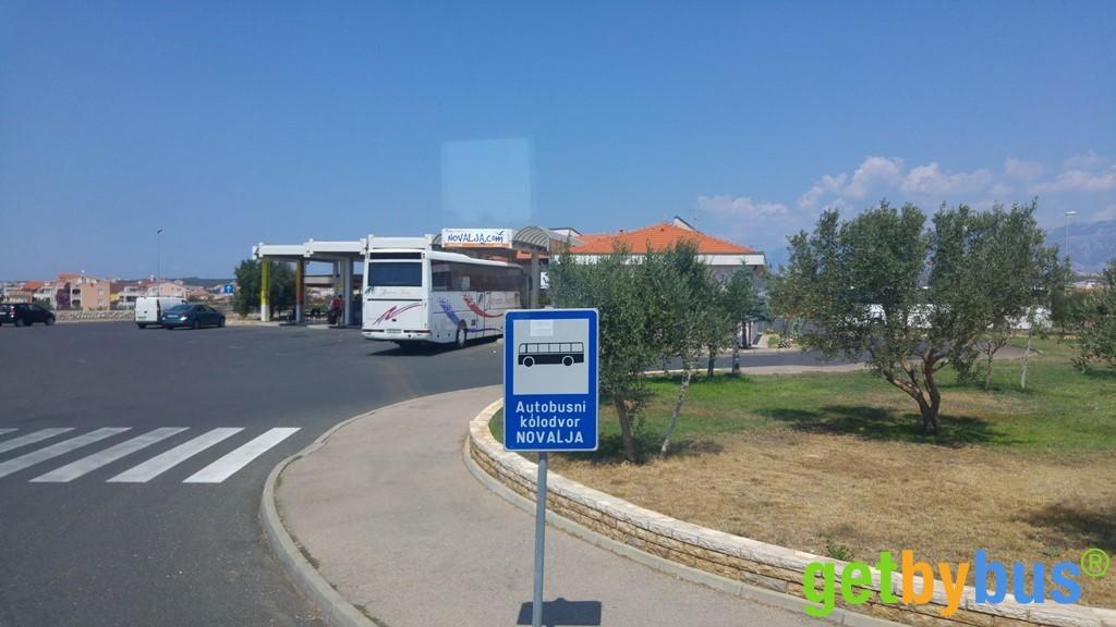 Busbahnhof Novalja