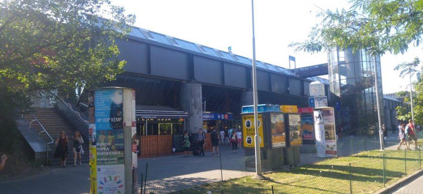 Prague main train station - Praha hlavní nádraží