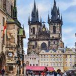 Openaar vervoer Praag naar Budapest