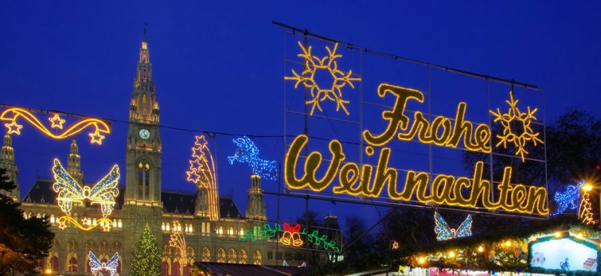Vienna Christmas Market.Christmas Markets Vienna List Of The Best Place To Visit