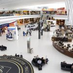 Inside terminal Budapest Airport