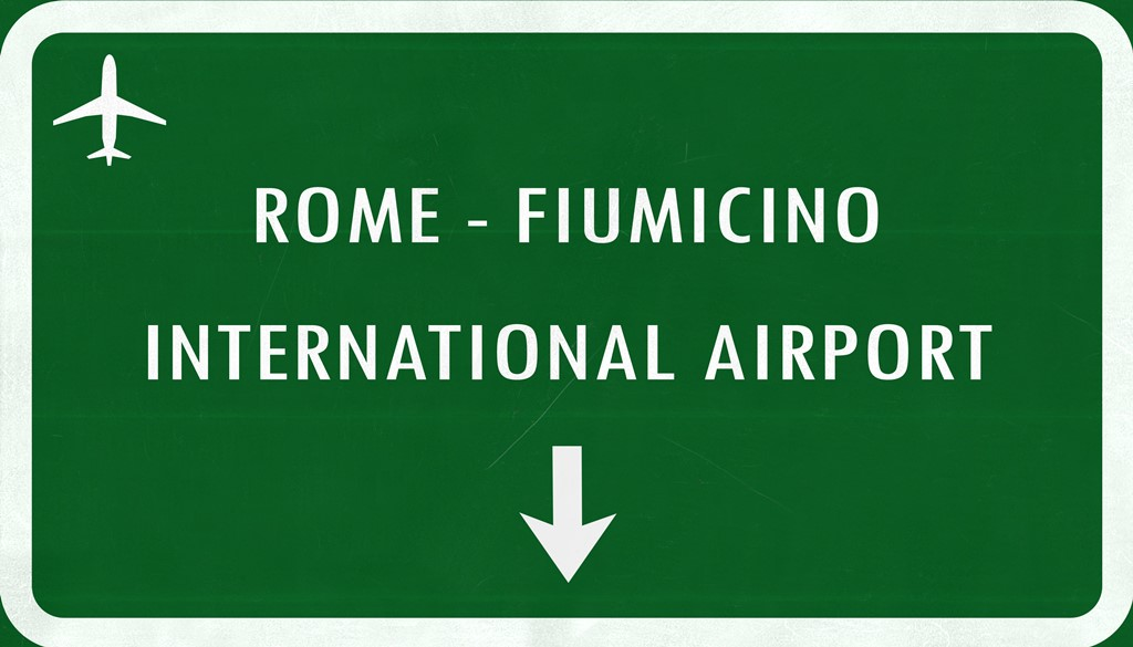 Airport Rome Fiuminico