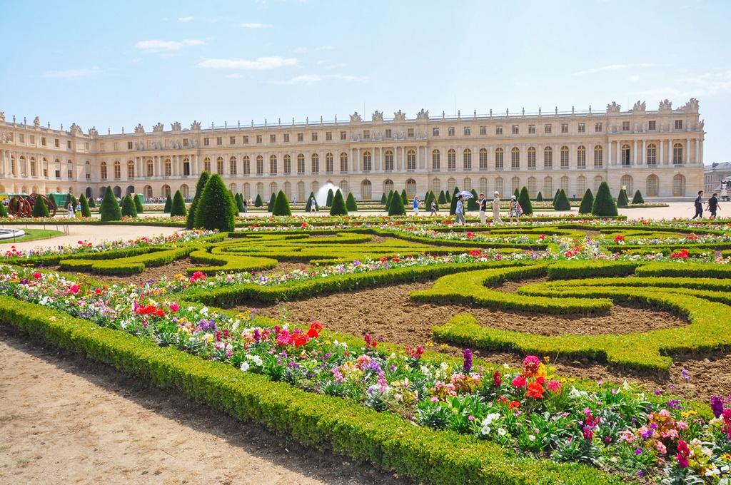 Garden at Versailles Palace, Paris