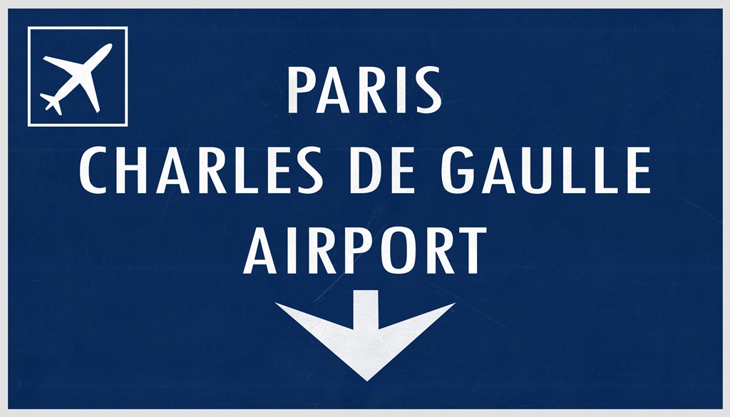 Paris Charles De Gaulle bus, getting to and from the airport