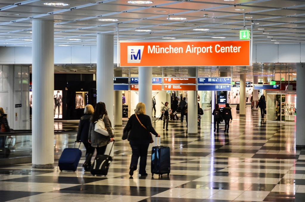 Airports in Germany, map and arrival info German airports