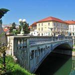 Dragon's bridge, Ljubljana, Slovenia