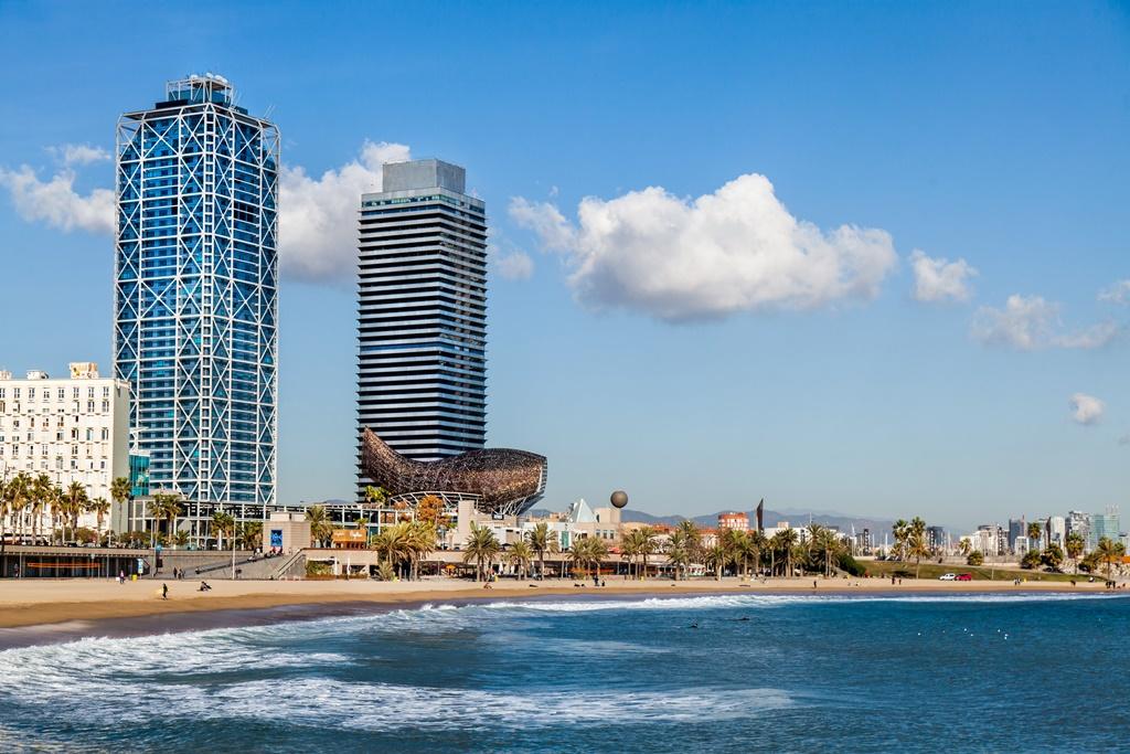 Barcelona city scape