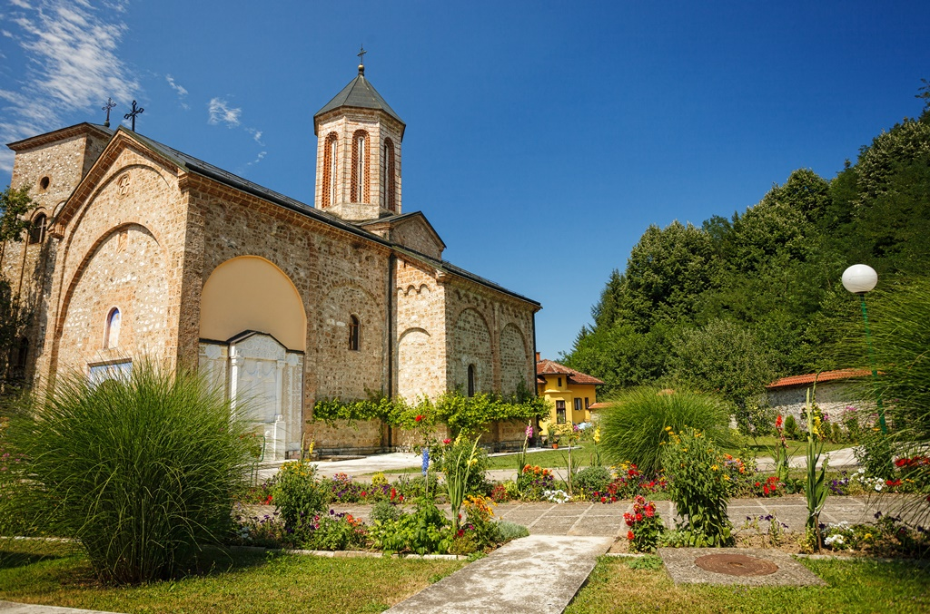 Beautiful Orthodox Monastery Raca, near Bajina Basta, Serbia