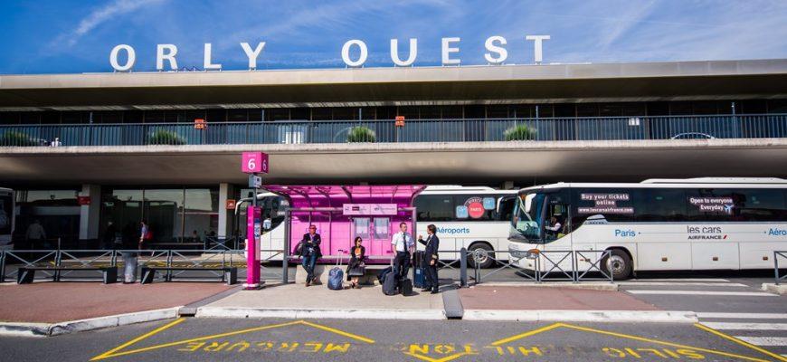 Flughafenbus Paris Orly