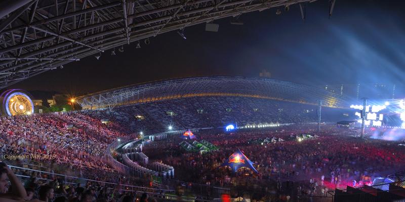 Ultra Europe muziekfestival Kroatie
