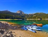 Black Lake (Crno Jezero) in Durmitor - Montenegro