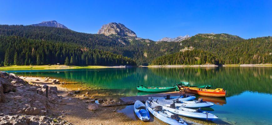 Black Lake (Crno Jezero) in Durmitor - Montenegro