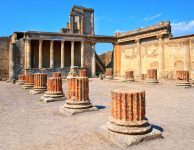 ancient town of pompei in italy