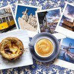 Pastéis de nata Portugal avec un café