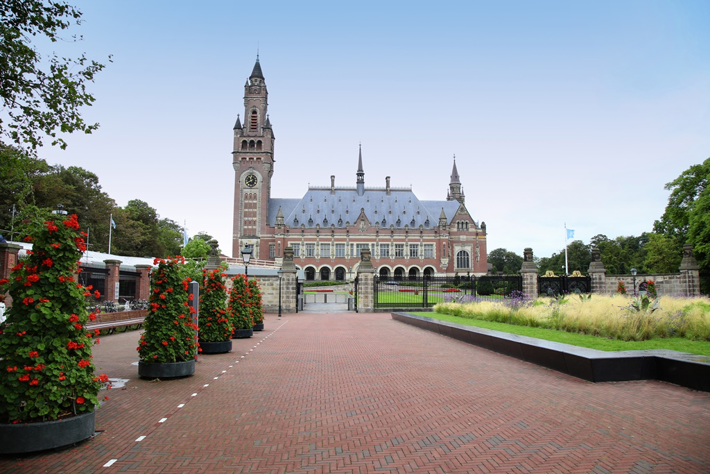 The Peace Palace - International Court of Justice in The Hague, Holland