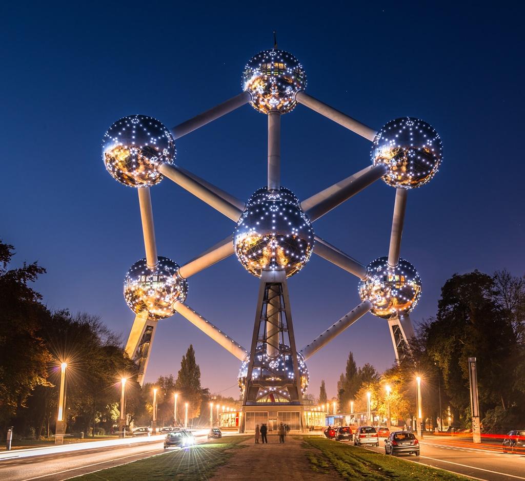 24 uur in Brussel. De beste bezienswaardigheden in Brussel.