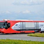 Vliegveldbus Warschau Polen